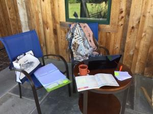 set up to write